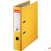 Kép 1/4 - Iratrendező Esselte ECONOMY A4 75mm élvédős sárga Esselte 20db rendelési egység ár 1db-ra
