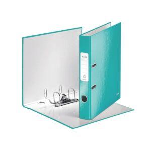 Iratrendező Leitz WOW WOW lakkfényű 180 50mm, jégkék Leitz 1db rendelési egység ár 1db-ra