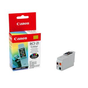 Festékpatron Canon BCI-21 color ten/e