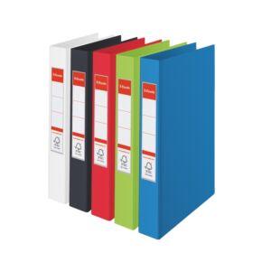 Gyűrűskönyv Esselte STANDARD A4,2 gyűrű, vegyes Esselte 1db rendelési egység ár 1db-ra