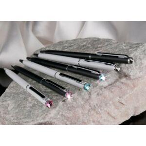 Swarovski toll fehér tes 20 Slim Black Diamond Kristály Made With Swarovski Elements