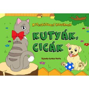 Kifestőfüzet kicsiknek Kutyák, cicák Napraforgó könyvek
