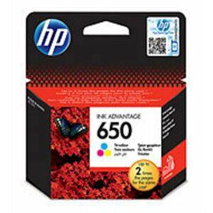 Tintapatron HP CZ102E No.650 színes 200oldal HP