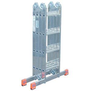 Létra összecsukható alumínium 4x3 lépcsőfok MultiMatic KRAUSE
