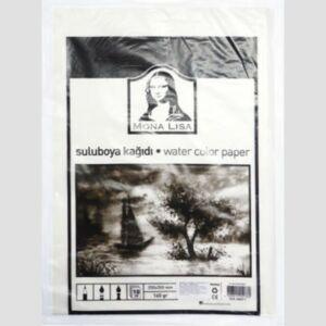 Akvarell papír A4 Mona Lisa 25x35cm, 160gr/ív (10db/csom) MN09-1 iskolaszezonos termék