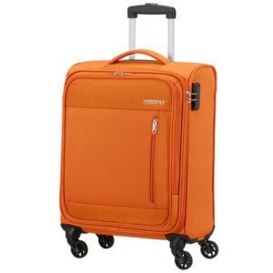 American Tourister kabinbőrönd Heat Wave 55/20 130667/L038 Cardigan Orange, 4 kerekű, t