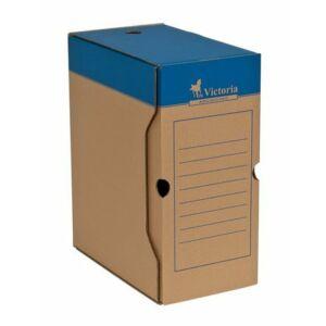Archiváló doboz A4 Victoria 150mm natúr karton Iratrendezés Victoria 38073