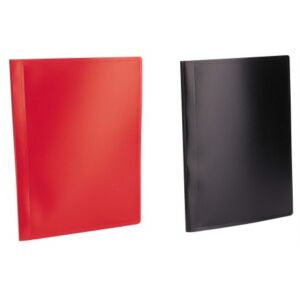 Bemutatómappa A4 40zseb fekete Viquel Standard Iratrendezés VIQUEL 508005-04