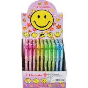 Bensia toLóbetétes ceruza radíros PAEPF49 Szorzótáblás különféle áttetsző színes testtel
