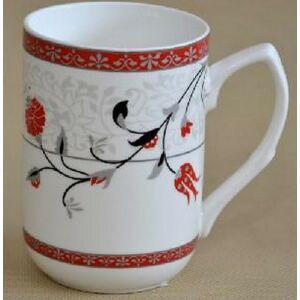 Bögre Red Tulip 250ml 250ml-es porcelán bögre