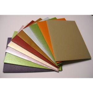 Boríték LC6 selyemfényű színes BP. vegyes színű kód