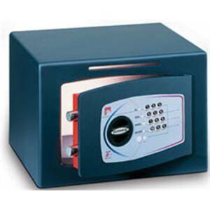 Bútorszéf elektronikus zár 31L 280x400x350mm bedobós TECHNOMAX