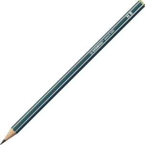 Ceruza HB Stabilo Pencil 160 hatszögletű - olajzöld Stabilo grafitceruza 160/HB