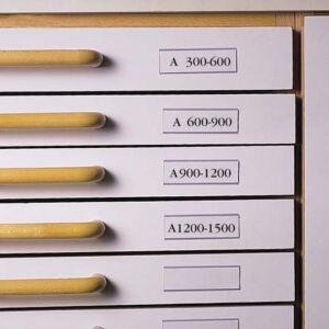 Címketartó öntapadós zseb 3L fiókhoz 30x150mm Iratrendezés 3L 7530-10