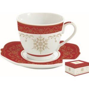 Csésze+alj 225ml porcelán Hermitage 2db-os szett díszdobozban