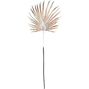 Dekor ág pálmalevél 20' 56cm glitteres karácsonyi