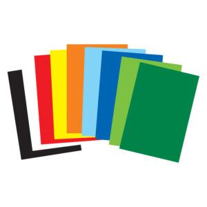 Dekorkarton egyoldalú B/2 színes karton KÉRJE SZÍN SZERINT iskolai karton