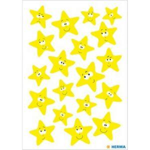 Dekormatrica Herma világító sárga csillagok Kreatív termékek