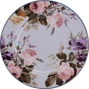 Desszertes tányér porcelán Katie Alice Grey Floral, Wild Apricity, 190x15x190mm 5234509
