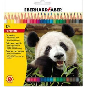 Eberhard Faber színes ceruza 24db -os mintás készlet E514824