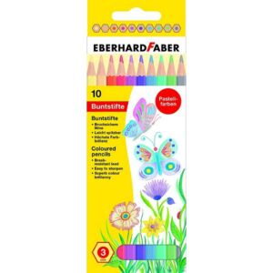 Eberhard Faber színes ceruza 10db pasztell készlet E514810