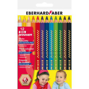 Eberhard Faber Színes ceruza 12db Big Winner E518712