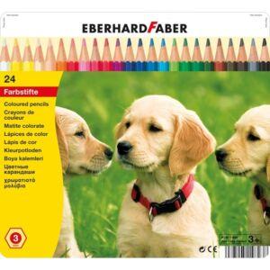 Eberhard Faber Színes ceruza 24db -os fémdobozos E514823
