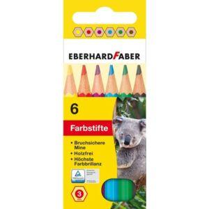 Eberhard Faber színes ceruza 6db mini készlet E514906