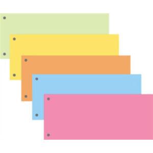 Elválasztócsík Fornax 10,5x24cm vegyes színű 100lap/csomag
