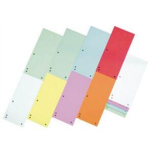 Elválasztócsík karton Donau 235x105mm vegyes színek 5x25ív/csom Iratrendezés DONAU 8620100-99PL