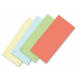 Elválasztócsík karton Victoria 235x105mm vegyes színek 5x10ív/csom Iratrendezés Victoria