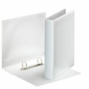 Gyűrűskönyv panorámás Esselte A5 46mm D2gy fehér Esselte 12db rendelési egység ár 1db-ra