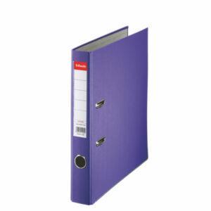 Iratrendező Esselte ECONOMY A4 50mm élvédővel lila Esselte 25db rendelési egység ár 1db-ra