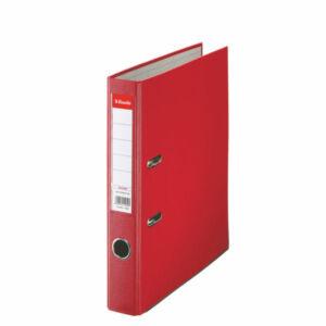 Iratrendező Esselte ECONOMY A4 50mm élvédővel piros Esselte 25db rendelési egység ár 1db-ra