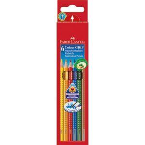 Faber-Castell színes ceruza 6db Grip Akvarell 112 406 112 406