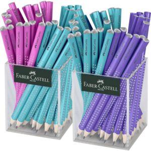 Faber-Castell B ceruza Sparkle Jumbo - pink gyöngyházfényű 111612