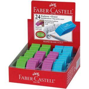 Faber-Castell radír BIcolor különleges forma színes, PVC-fre prémium minőségű termék 183057