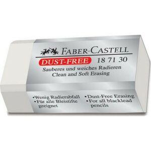 Faber-Castell radír forgácsmenteskicsi fehér dust-free 18713 prémium minőségű termék 187130