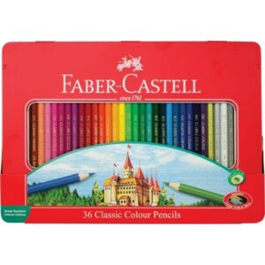 Faber-Castell színes ceruza 36db fémdobozos 115886