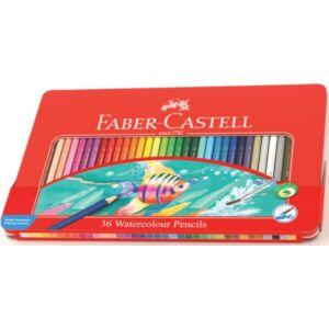 Faber-Castell színes ceruza 36db fémdobozos+kiegészítők 115 931 115 931