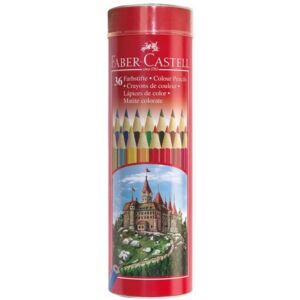 Faber-Castell színes ceruza 36db színes ceruza készlet csőben.