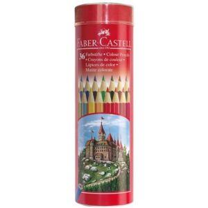Faber-Castell színes ceruza 36db színes ceruza készlet csőben. 115828