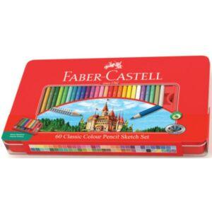 Faber-Castell színes ceruza 60db színes ceruza készlet+ 115894 kiegészítők 115894