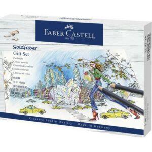 Faber-Castell színes ceruza AG GOLDFABER ceruza AJÁNDÉK szett 114 714 114 714