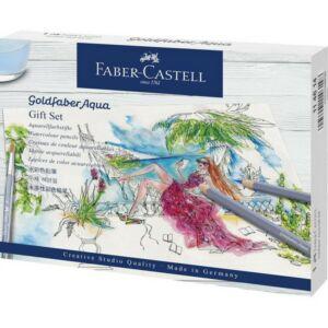 Faber-Castell színes ceruza AG GOLDFABER AQUA ceruza ajándék szett 114614