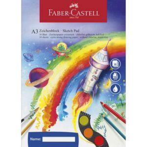Faber-Castell vázlatfüzet A3 100gr 10ív prémium minőségű termék 212047