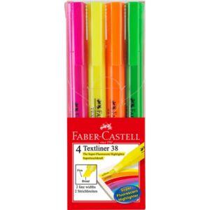 Faber-Castell Szövegkiemelő 4db FC-Szövegkiemelő készlet 38 157704