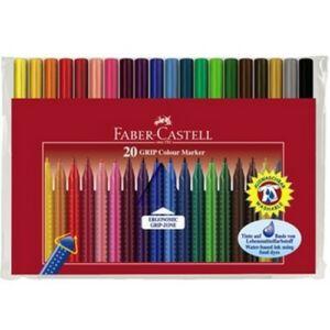 Faber-Castell filckészlet 20db Grip rostiron 155320 155320