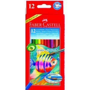 Faber-Castell színes ceruza 12db Akvarell Halas 114 413 114 413