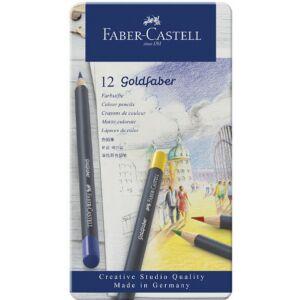 Faber-Castell művészceruza 12db AG-ceruza Godfaber fém dobozban 114712